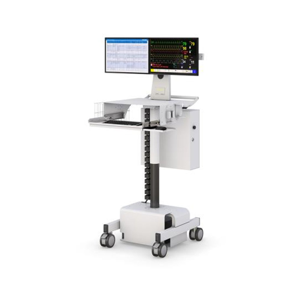 AFC Dual Monitor Point-of-Care Cart